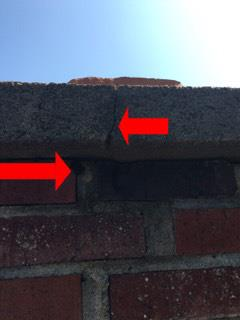 Chimney Cap Cracked