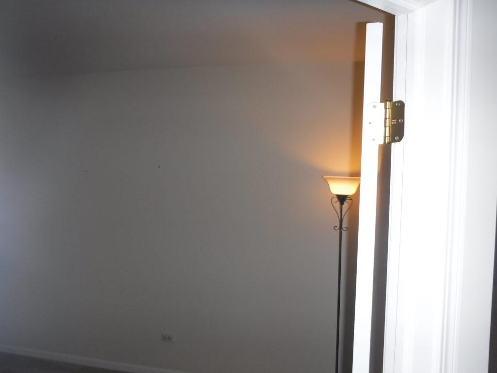 Improper door installation