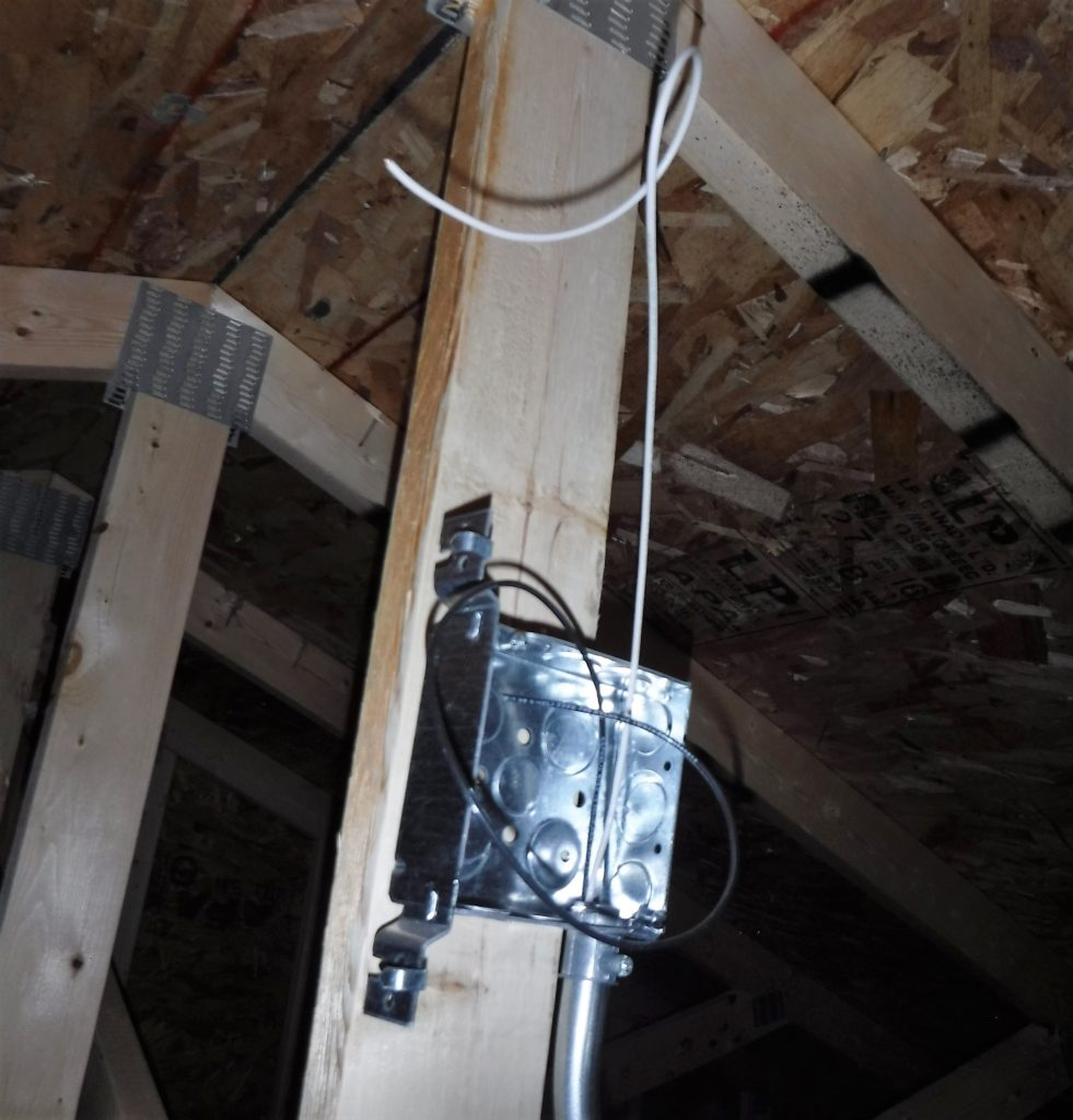 Open Junction Box, Live Wires Safety Issue