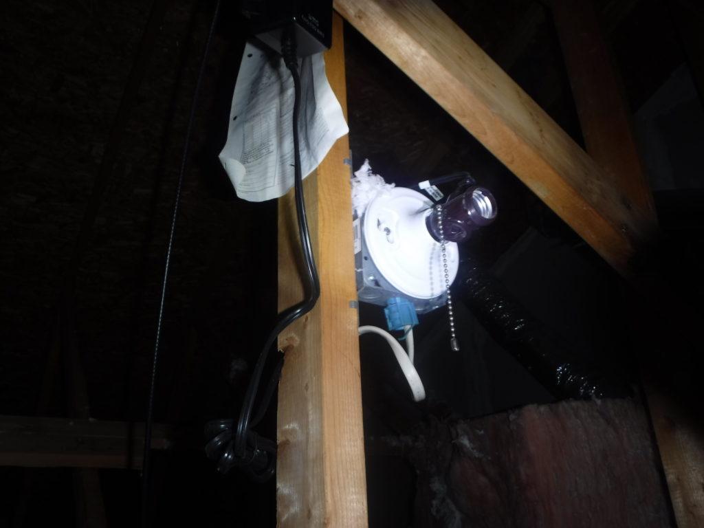 Missing Bulb open socket