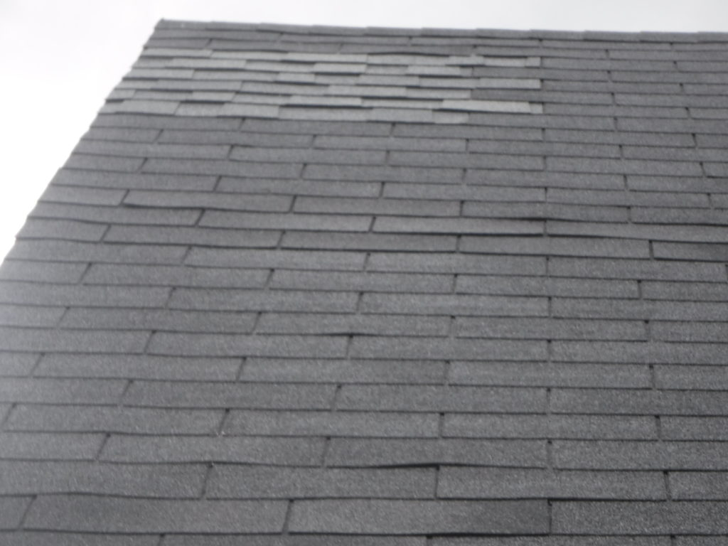 roof patching loose