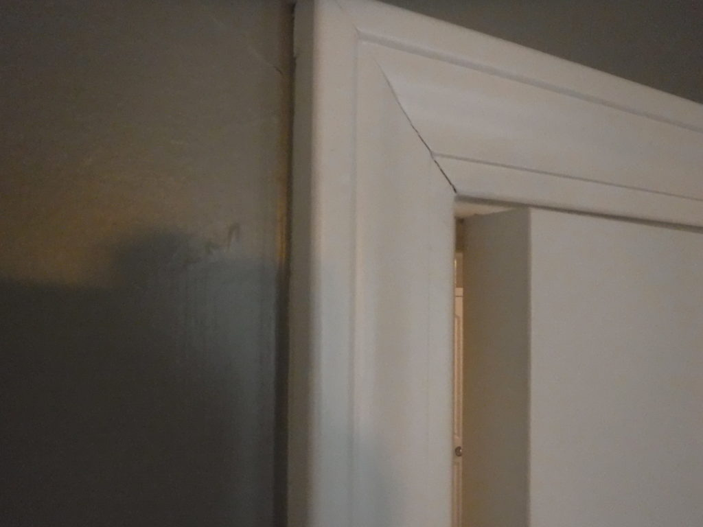 Misaligned door