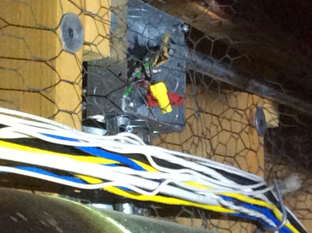 Open Junction Box Safety Issue