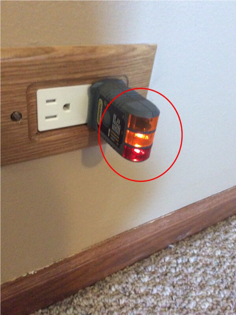 Reversed Polarity Receptacle Safety Issue